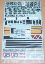 Tamiya 56352 Mercedes-Benz Arocs 3363, 9495910/19495910 Decals/Stickers, NIP