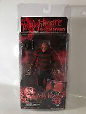 "NECA Nightmare On Elm Street Freddy's Dead Freddy Krueger 7"" Burnt Variant Rare"