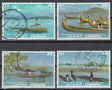 Ethiopia: 1972  Ethiopian River Boats, VFU