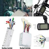 24V-60V 250-1500W Brushless Motor Controller Panel Kit for Electric Scooter Bike