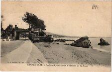 CPA  Cannes (A.-M.)- Boulevard Jean Hibert & Rochers de la Bocca    (513783)