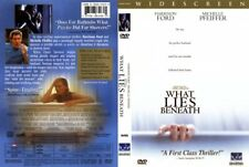 WHAT LIES BENEATH with H.Ford M.Pfeiffer  NEW DVD FREE POST mmoetwil@hotmail.com