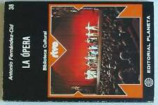 LA ÓPERA - BIBLIOTECA CULTURAL RTVE Nº 38 - 1975 - VER ÍNDICE Y DESCRIPCIÓN