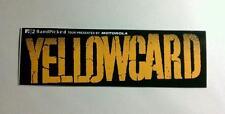 YELLOWCARD Ocean Avenue Motorola MTV Capitol Board Case Sticker