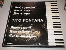 TITO FONTANA - RARE direarte LP - 1990 - MADE IN ITALY - FO207 -