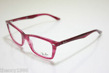Rayban New Frames Eyeglasses Eyewear RX 5241 5134 52mm Stuped Fuchsia New