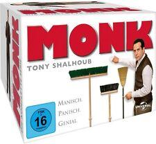 MONK (Tony Shalhoub), die komplette Serie (32 DVDs) NEU+OVP