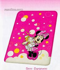 Sacco Copripiumino Minnie e Bella Rosa-Fuxia Puzzle Una Piazza Caleffi Disney