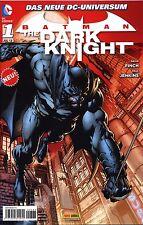 Batman-The Dark Knight (2012) #1 BAM-Variant C RED prima edizione domenica immagine