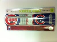 NEW Official Chicago Cubs   MLB Faceplate  for Microsoft XBOX 360