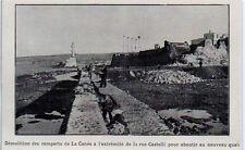 1900  --  DEMOLITION DES REMPARTS DE LA CANEE  GRECE   3K847