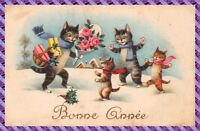 Carte Postale Fantaisie - Chats