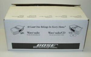 New BOSE Wave Music System-Remote, Radio, CD Player NEW OPEN BOX Gray II See NR