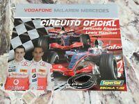 Pista elettrica Mclaren mercedes anno 2007 con Alonso ed Hamilton