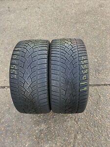 255 30 R 19 91W XL M+S Dunlop SP Winter Sport 3D 2x Tyres Fitting Ava 2553019