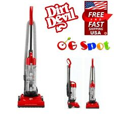 Lightweight Bagless Floor Carpet Dust Upright Vacuum Cleaner Sweeper , Red