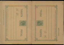 Spain  postal  reply  card  unused   15  cents      KL0509