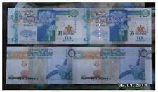 Seychelles 10 Rupees Uncut 2in1 35 Years Center Bank  塞舌尔中央银行成立35周年纪念钞 10卢比两连体
