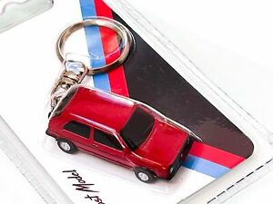 Z Models VW Golf GTI MkII Keyring, Roughly OO Scale, Ideal For Model Railways