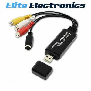 AVerMedia C039 EZMaker 7 USB Video Capture Card Analog to Digital Recorder