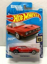 2019 Hot Wheels HW Screen Time James Bond '71 Mustang Mach 1