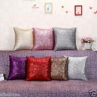 Glitter Sequins Throw Pillow Case Cafe Home Decor Cushion Covers