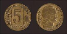 ARGENTINA 5 CENTAVOS 1949