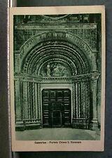 CAMERINO - Portale chiesa S.Venanzio [b/n., picc., viagg., Cart.Luigi Conforti]