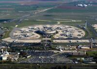 Paris Flughafen Airport Charles de Gaulles Foto Fridge Magnet Reise Souvenir
