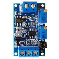 Current To Voltage Module 0/4-20mA To 0-3.3V 5V 10V Voltage Transmitter S08 B7U9