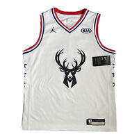 Nike NBA All Star 2019 Milwaukee Bucks Jersey #34 ANTETOKOUNMPO Youth Women's L