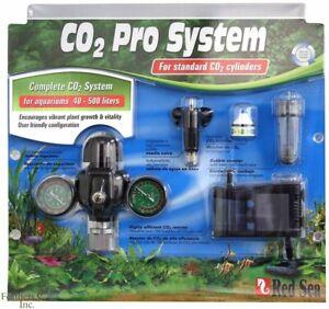 Red Sea CO2 System - Fish Aquarium Regulator Solenoid Diffuser Atomizer Plant