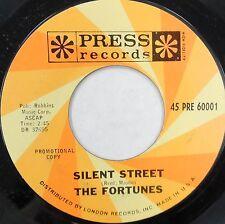 THE FORTUNES 45 Silent Street PRESS 1966 Mod PROMO Near Mint M- #D397