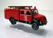 Wiking 086338 MAGIRUS DEUTZ Rundhauber TLF 16 pompiers Scale 1 87 Nouveau neuf dans sa boîte