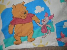 Disney Winnie The Pooh Twin 3 Piece Sheet Set Fitted Flat Pillowcase