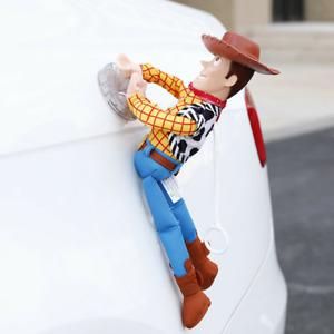 Toy Story Sherif Woody Buzz Lightyear Car Dolls Outside Hang Toy Car Decoration