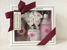 ORCHARD & BLOOM COLLECTION PINK LILY & JASMINE GIFT SET, LARGER SIZE PRODUCTS.