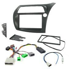 Honda Civic Hatchback auto estéreo Kit De Montaje Fascia Con Tallo Adaptador De Interfaz