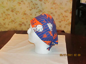 Handmade MLB New York Mets Runner Surgical Scrub Hats