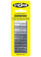 Storm Fishing Weights -  Storm Suspenstrips 70 Strips Bass Fishing Lure Bait