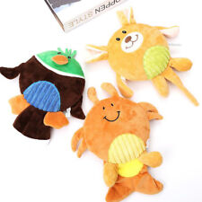 Soft Pet Puppy Chew Play Squeaker Squeaky Cute Plush Sound Dogs Bite Toy CF