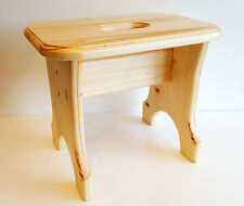 Sgabello Gradino, In legno Poltrona Per Bambini, Piccolo Sgabello, Naturale ECO