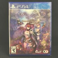 Nights of Azure 2: Bride of the New Moon (Sony PlayStation 4, 2017) BRAND NEW