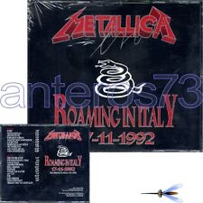 """METALLICA """"ROAMING IN ITALY 1992"""" RARE DOUBLE CD ITALY - SEALED"""