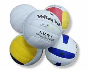 Handmade Volleyball Soft Touch Official Size Beach Ball Pool UK PU Leather