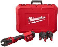 Milwaukee Cordless Short Throw Press Tool Kit 18V Lithium Ion 3 PEX Crimp Jaws