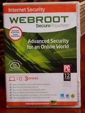 Webroot Internet Security CD