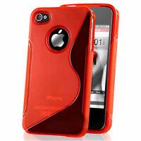 Lot REVENDEUR Etui Coque Housse TPU Silicone S-Line Apple iPhone 4/ 4S/ 4G