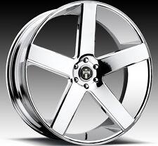 """24"""" Dub Wheels Baller Chrome CONCAVE Rims Escalade Yukon GMC Sierra Denali 26"""