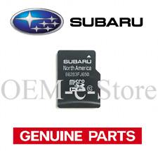 2015 2016 Subaru Impreza / VX Crosstrek & Hybrid Navigation Micro SD Card Map